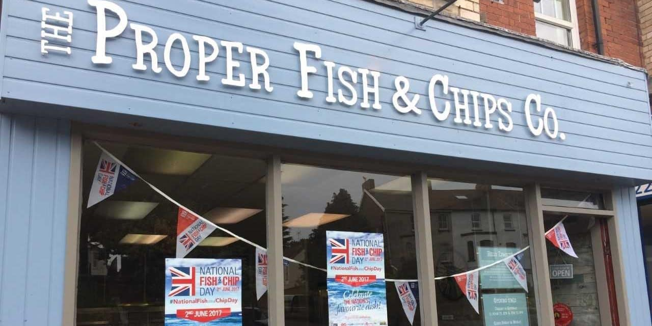 Plastic Free at The Proper Fish & Chips Co