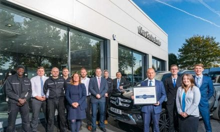 Exeter Dealer Secures Coveted Mercedes-Benz Vans Quality Accreditation