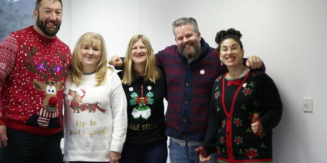 Happy Christmas Jumper Day!