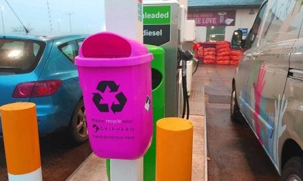 GripHero Releases Recycling Bins to Reduce Plastic Waste on Forecourts