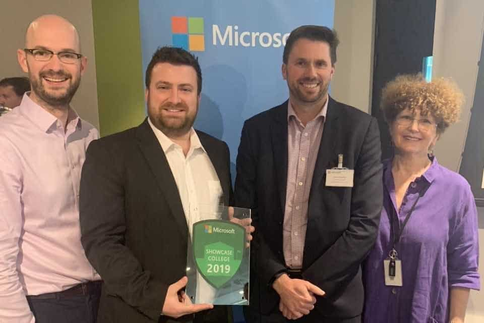 Exeter College Announced as Devon's First Microsoft Showcase College