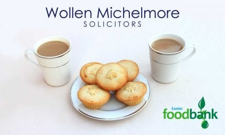 WollenMichelmore'sCoffee & Mince Pie Morning for ExeterFoodBank