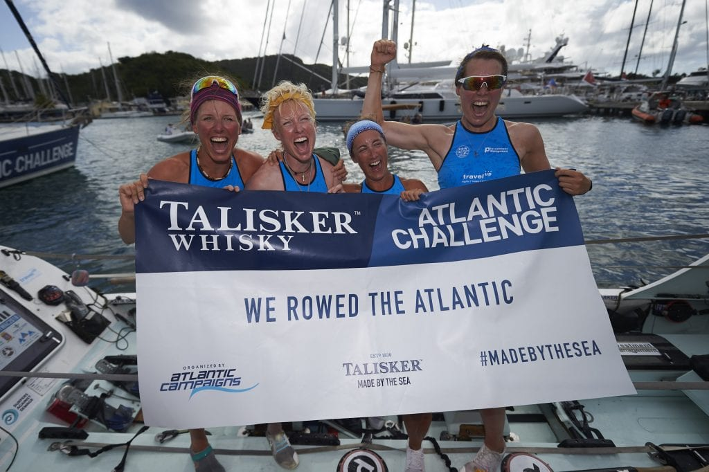 Talisker Whisky Atlantic Challenge Row for the Ocean Grow