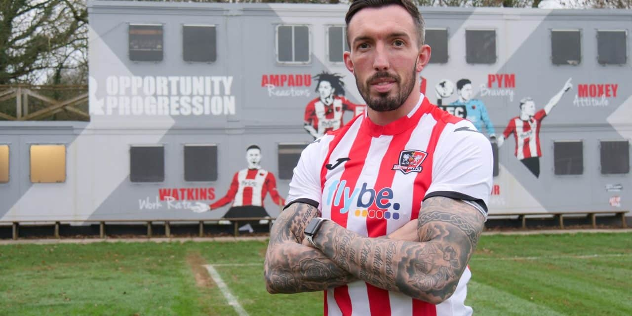 BREAKING NEWS: Ryan Bowman Signs For Exeter City