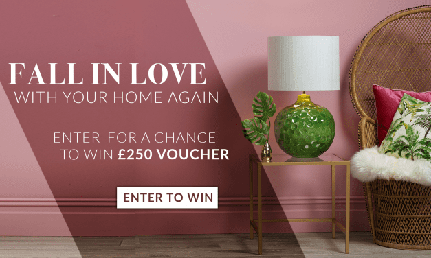 Win £250 to spend at Amos Lighting!