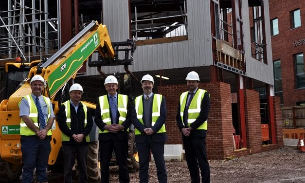 Main Contractor on Schedule for Initial Phase of College Masterplan
