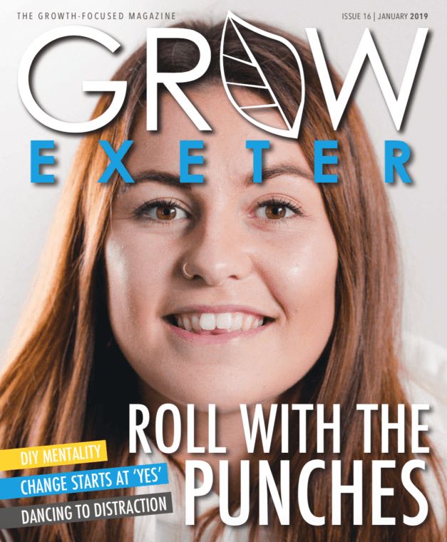 Grow Exeter January 2019 Edition - Front Cover