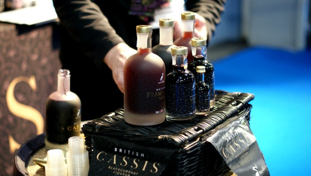British Cassis Source Trade Show Grow Sofy Robertson