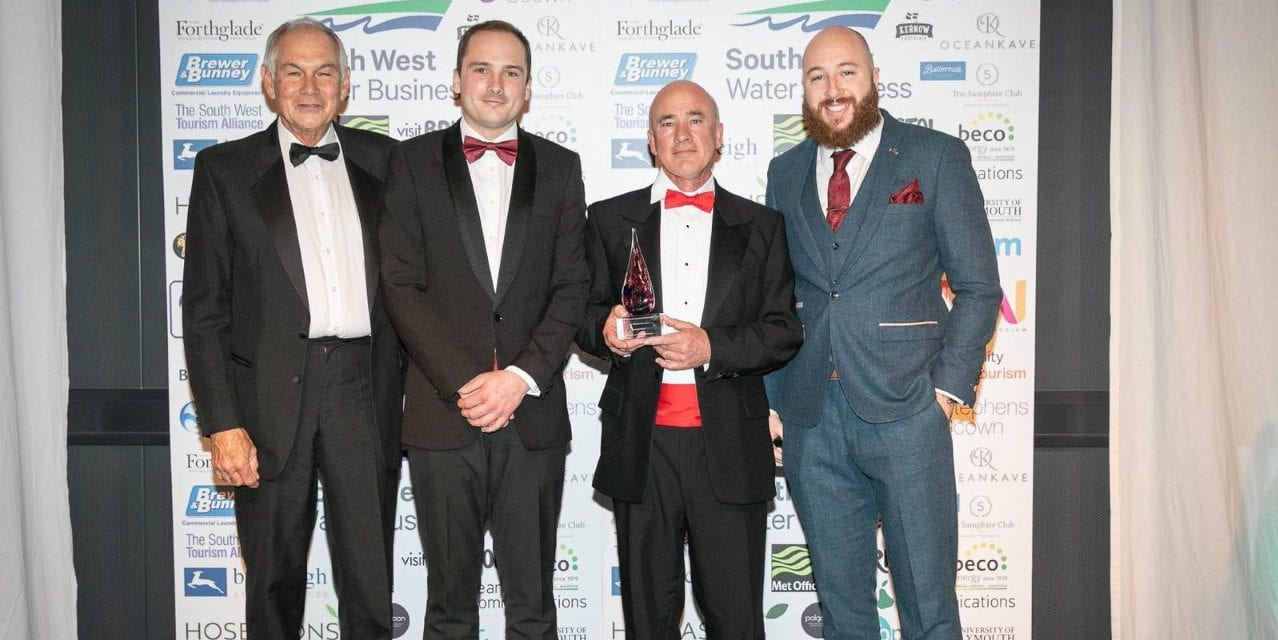 Exmouth Business Awarded Bronze At The South West Tourism Awards