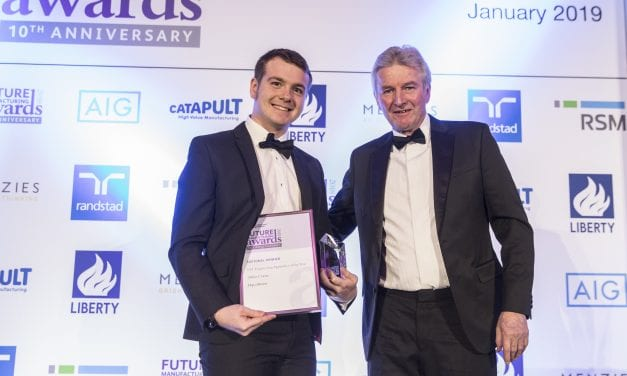 Tiverton Apprentice Wins Prestigious National Award