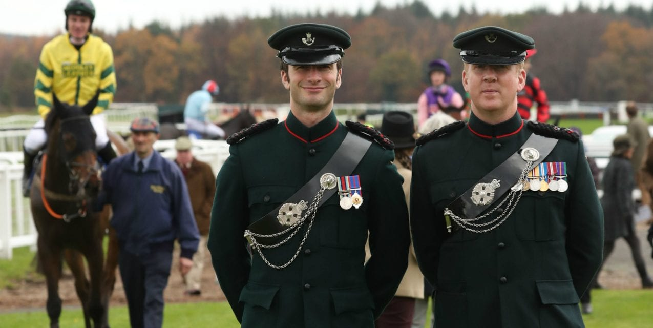 Heroes And Horses Take Centre Stage On Gentlemen's Day In Support Of The Armed Forces