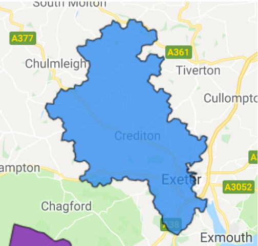 Map Of Uk Exeter.Exeter Businesses All Qualify For Flexible Power Earn Money By Managing Your Power Grow