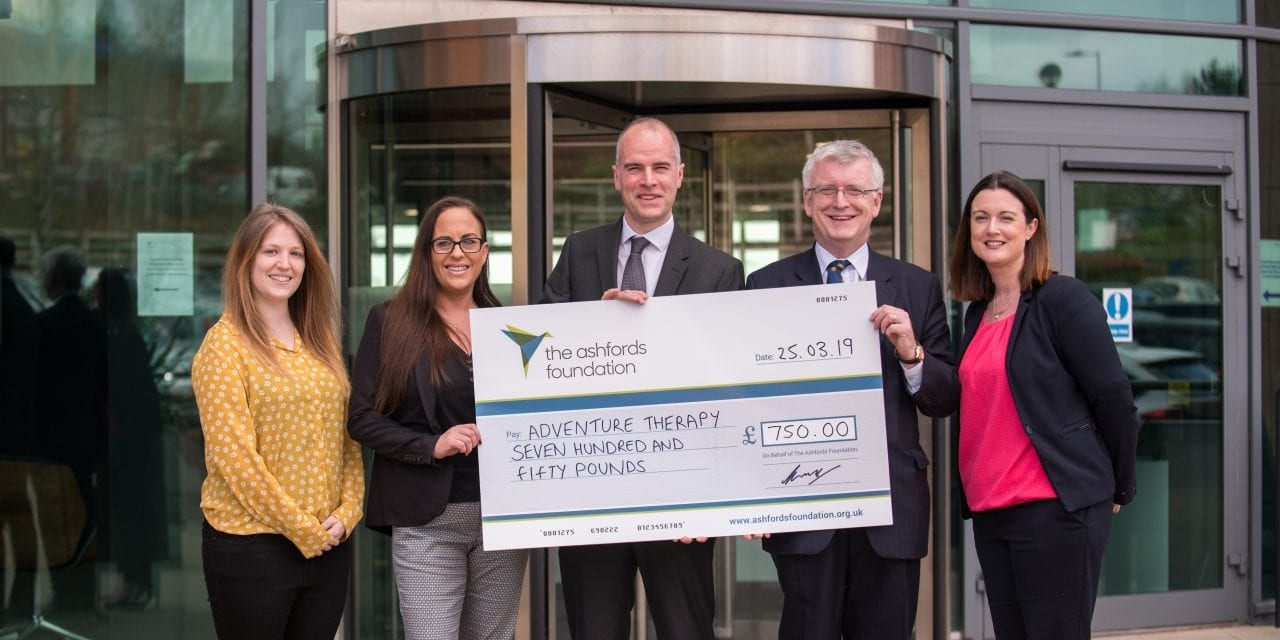 Law Firm Ashfords Launches New Charitable Foundation With Devon Adventure Therapy Charity Award