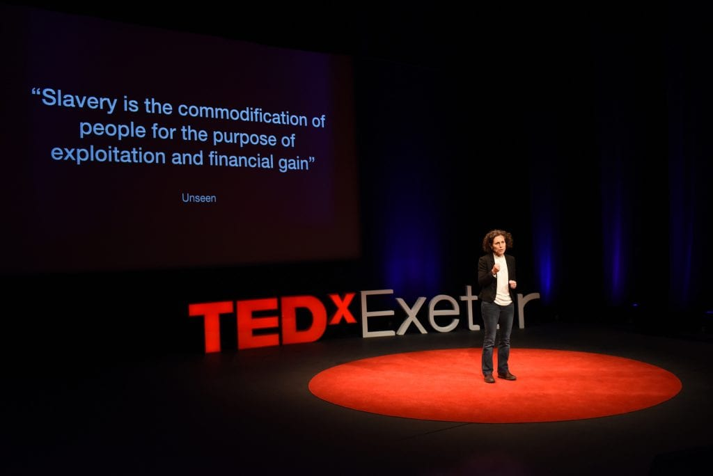 Kate Garbers, TEDxExeter Grow
