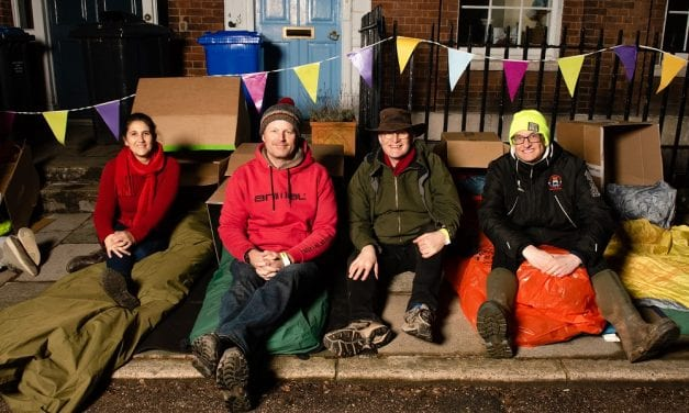 YMCA Exeter Sleep Easy Raises Over £14,000  For Young Homeless People