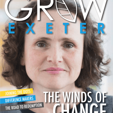 Penny Endersby, CEO of Met Office in Exeter, Magazine Front Cover, March Edition 2019