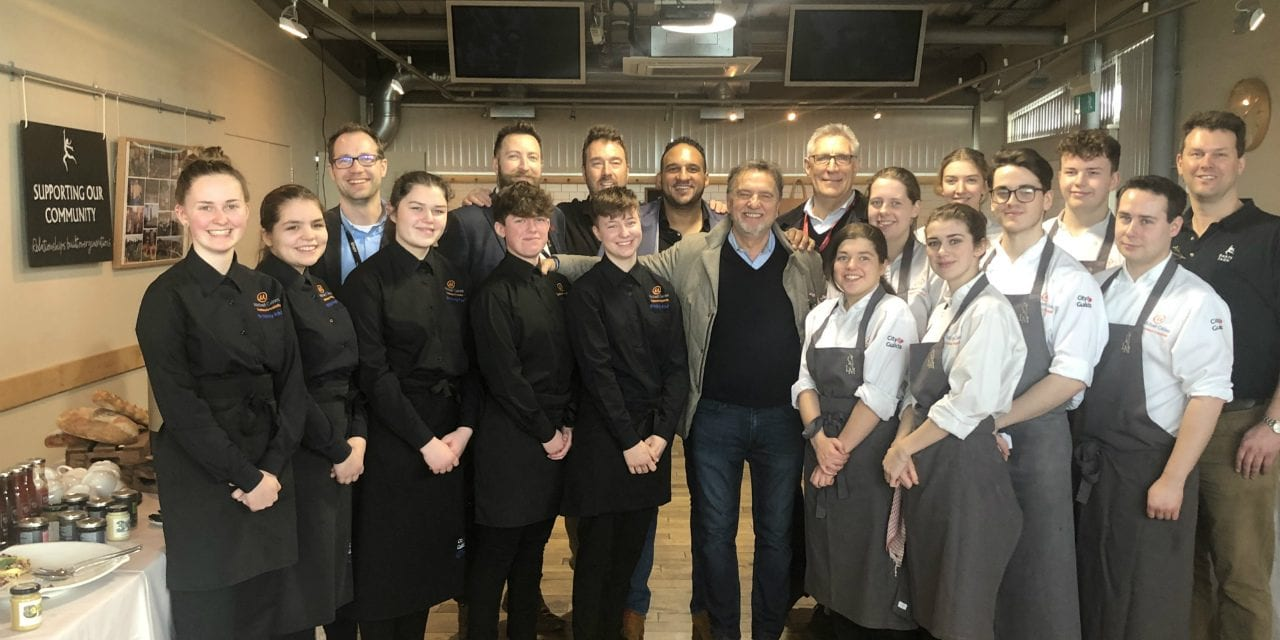 World Leading Chefs, Including Raymond Blanc, Visit Exeter College Michael Caines Academy