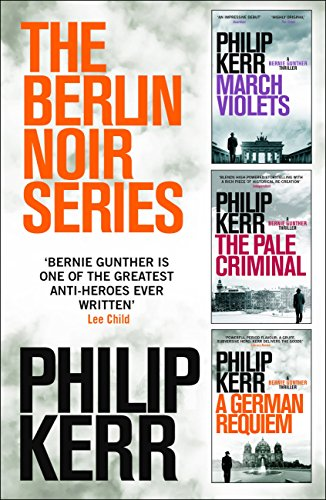 Clouds on the book cover of The Berlin Noir Series