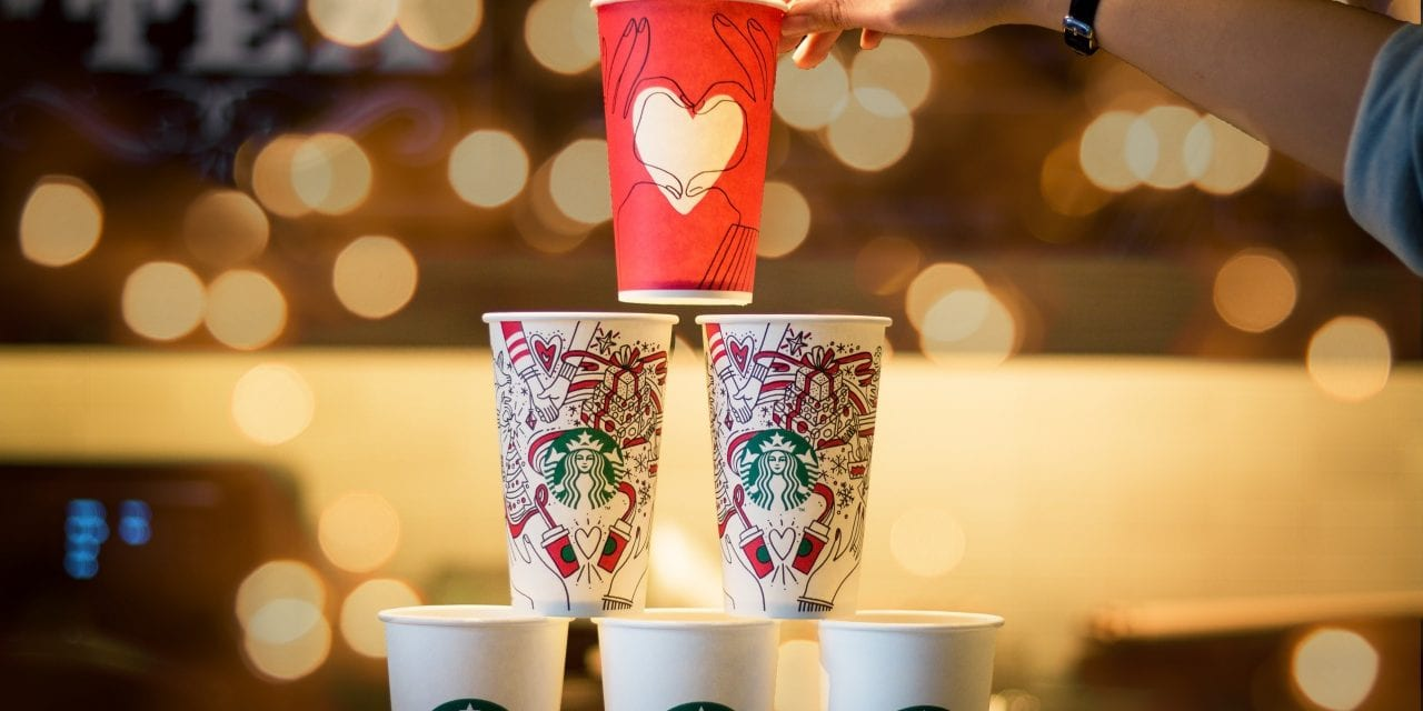 Starbucks And McDonald's Are Trialling The Cups Of The Future!