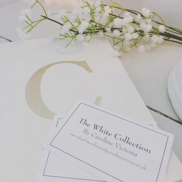 The White Collection by Caroline Victoria