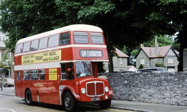 100 Years Of Bus Travel In Devon Celebrated With Devon General Society Staff Reunion