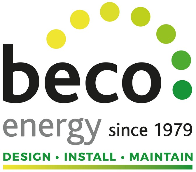 Beco energy logo with strapline.
