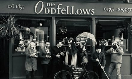 The Oddfellows Exeter – Keeping It Quirky