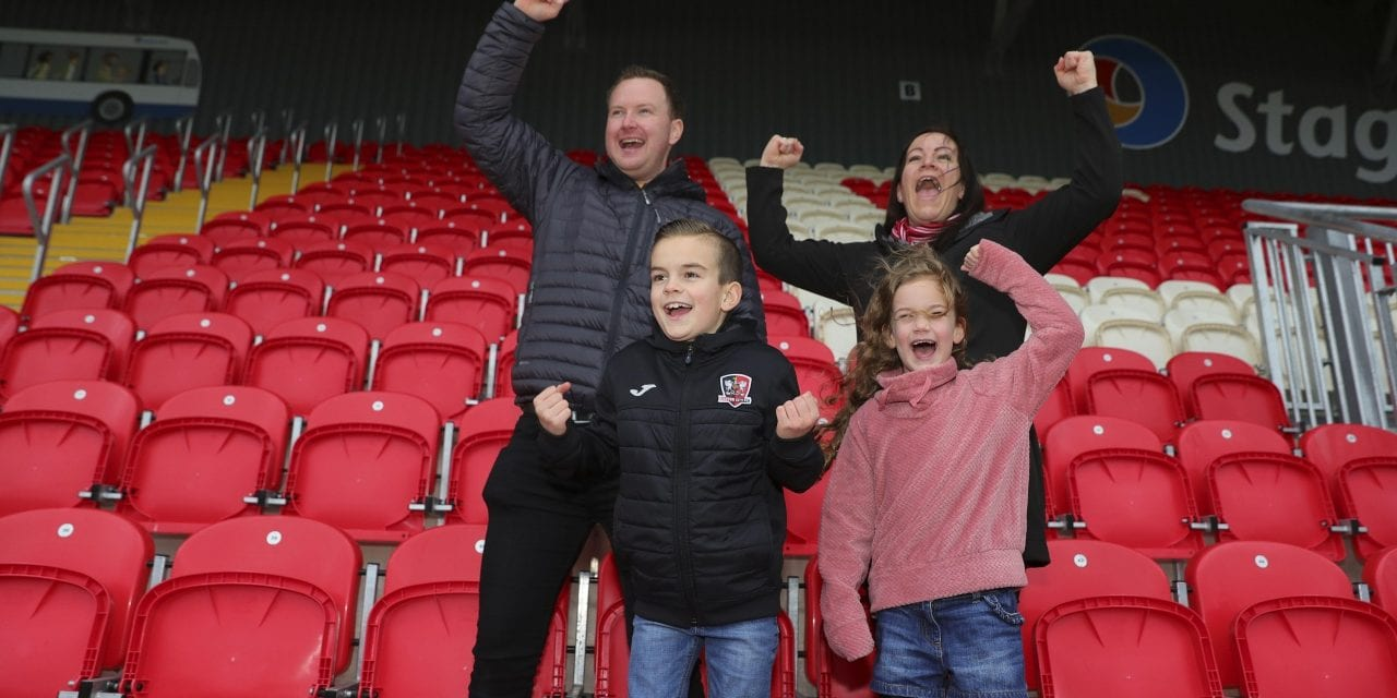 Exeter City Riding High In Family Excellence Awards