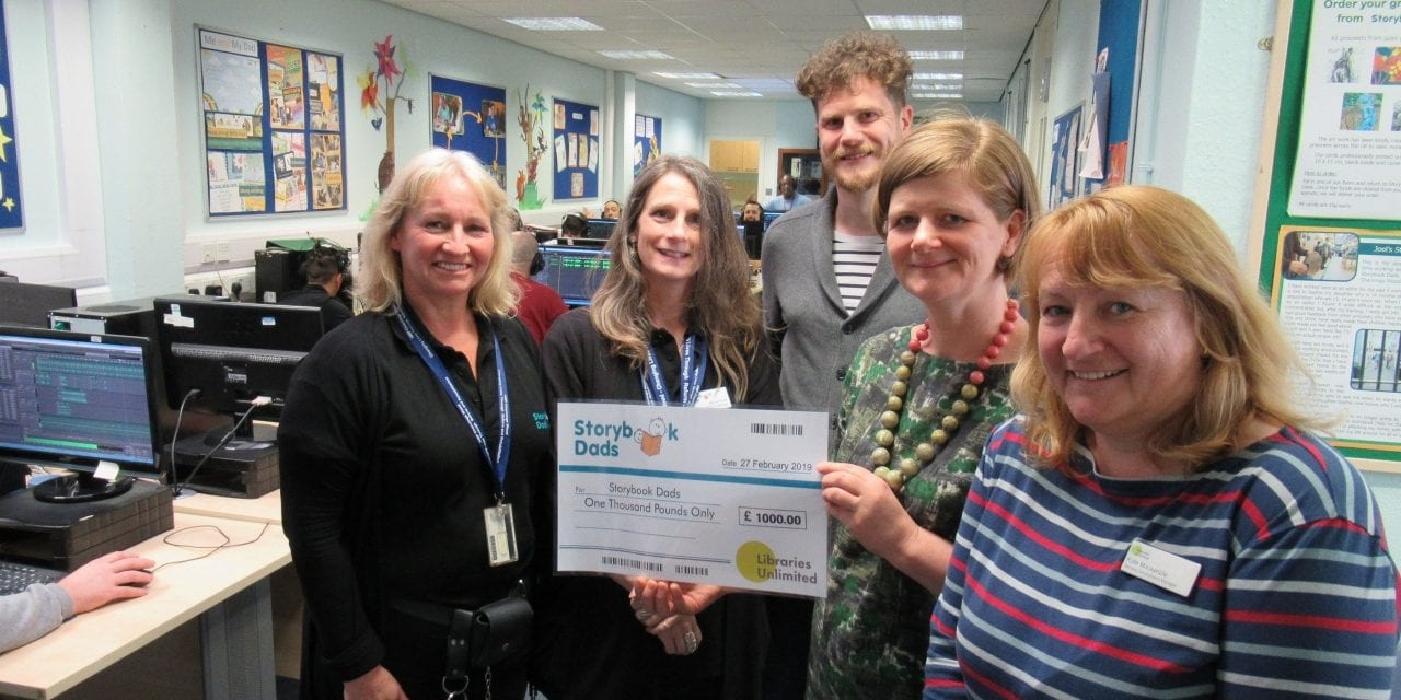 Storybook Dads Receives Donation From Libraries Unlimited