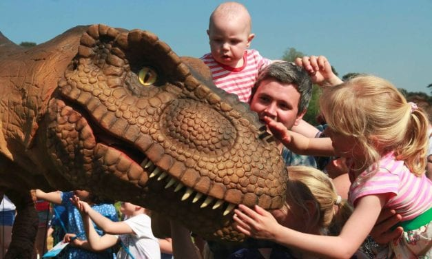 Tyrannosaurus Rex Coming To Exeter Guildhall Shopping Centre