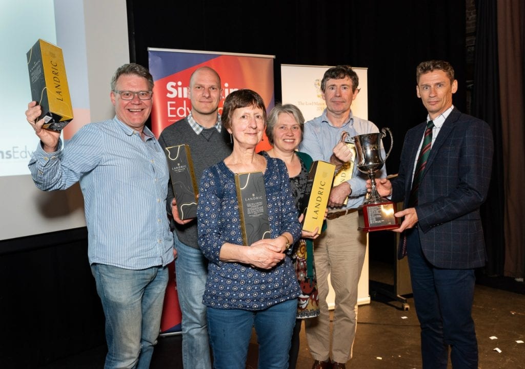 Exeter's Really Big Quiz winners, On Your Marks team
