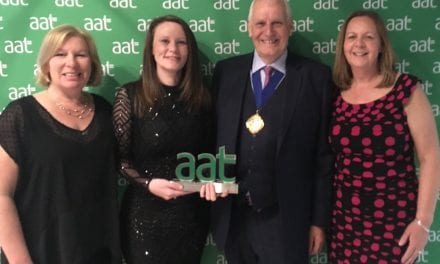 South Devon College Wins AAT Award!