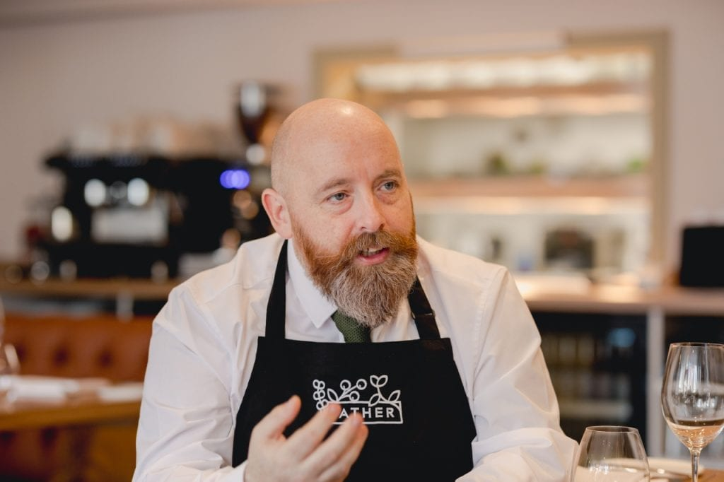 General Manager of Gather Totnes, James Skeffington