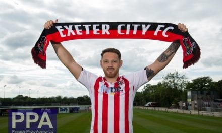 Exeter City FC announce signing of Tom Parkes from Carlisle United