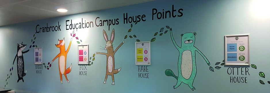 Cranbrook Education Campus House Point System