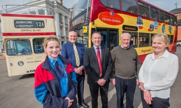 Devon General's Centenary Bus Unveiled