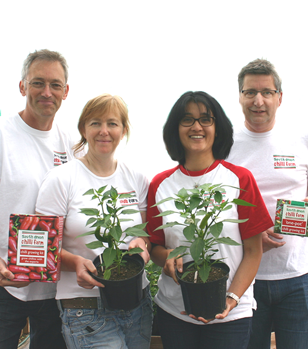 South Devon Chilli Farm directors.
