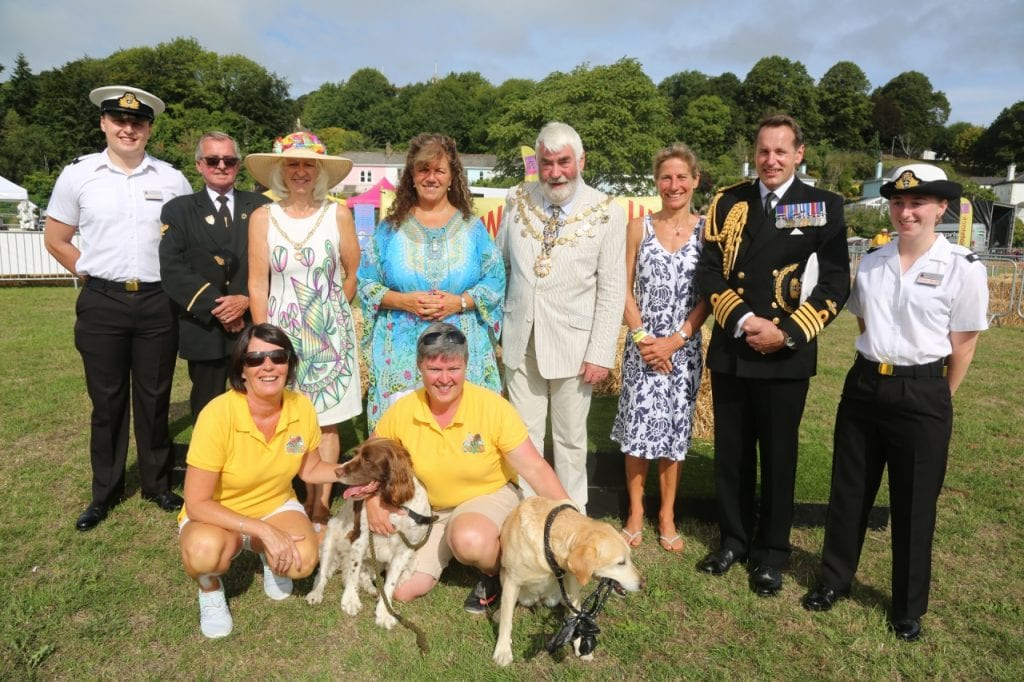 Woofstock UK organisers and attendees
