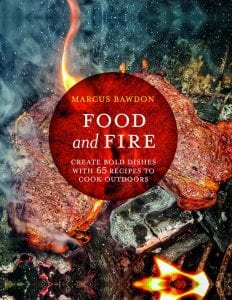 Food and Fire book cover rotisserie beef topside recipe
