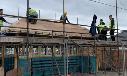South Devon College Construction Students Save Seafront Shelters