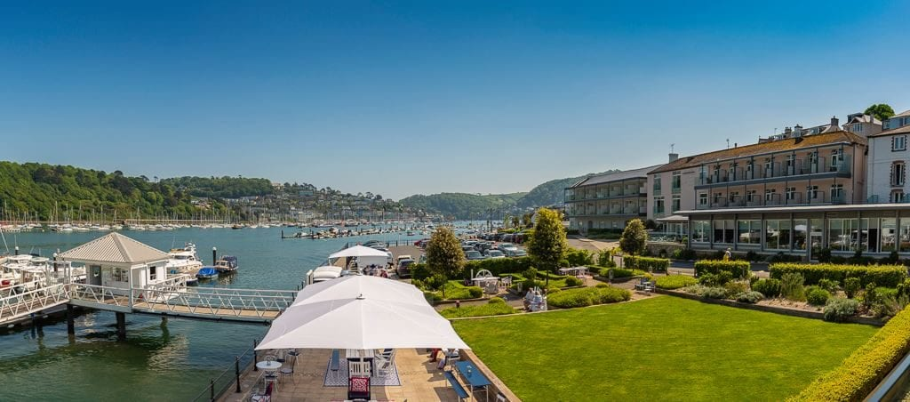 Stay in the Dart Marina Hotel and discover delicious Dartmouth