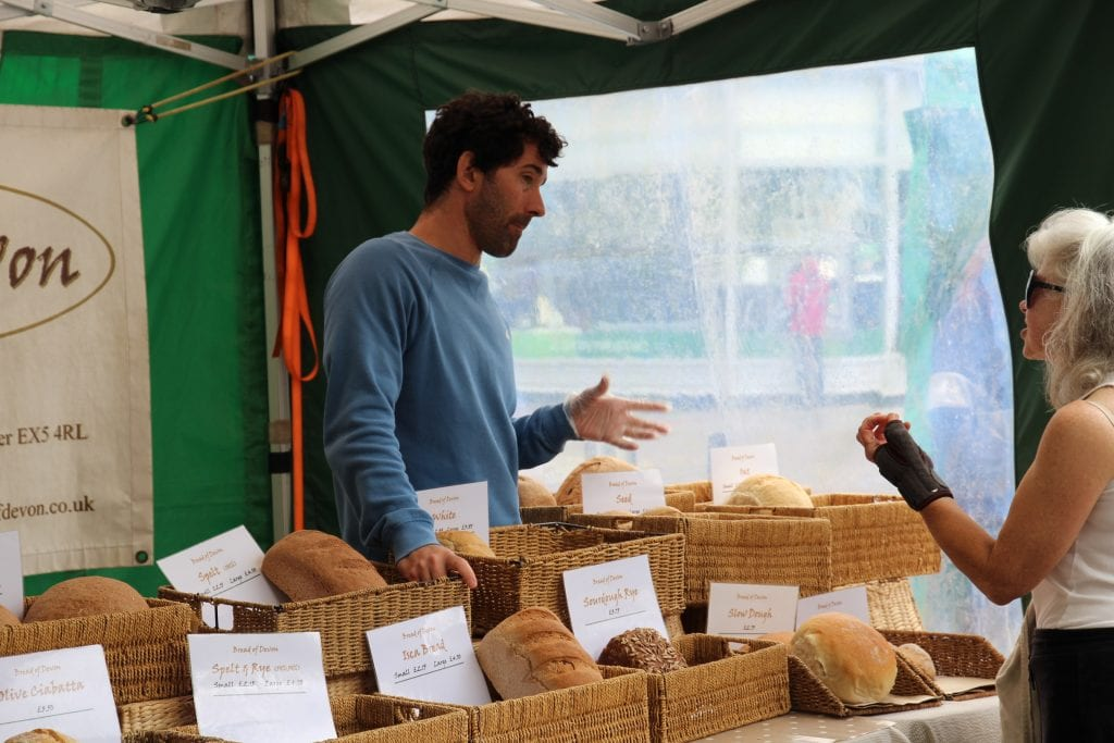 Bread of Devon Exeter Farmers Market