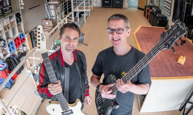 Ashfords LLP Advises On Sale Of Majority Shareholding In Manson Guitar Works Limited to Matthew Bellamy