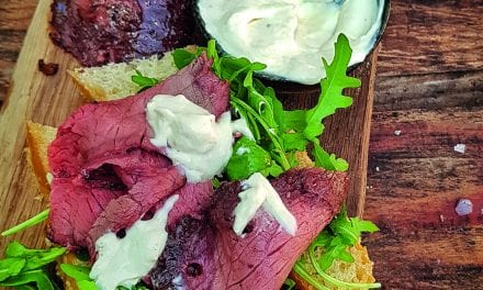 Grow On The Grill: Rotisserie Beef Topside