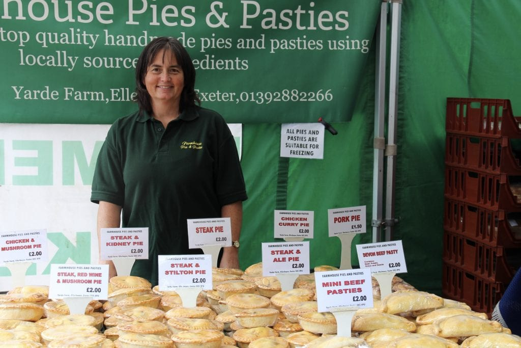 Exeter Farmers Market Pies and Pasties Karen