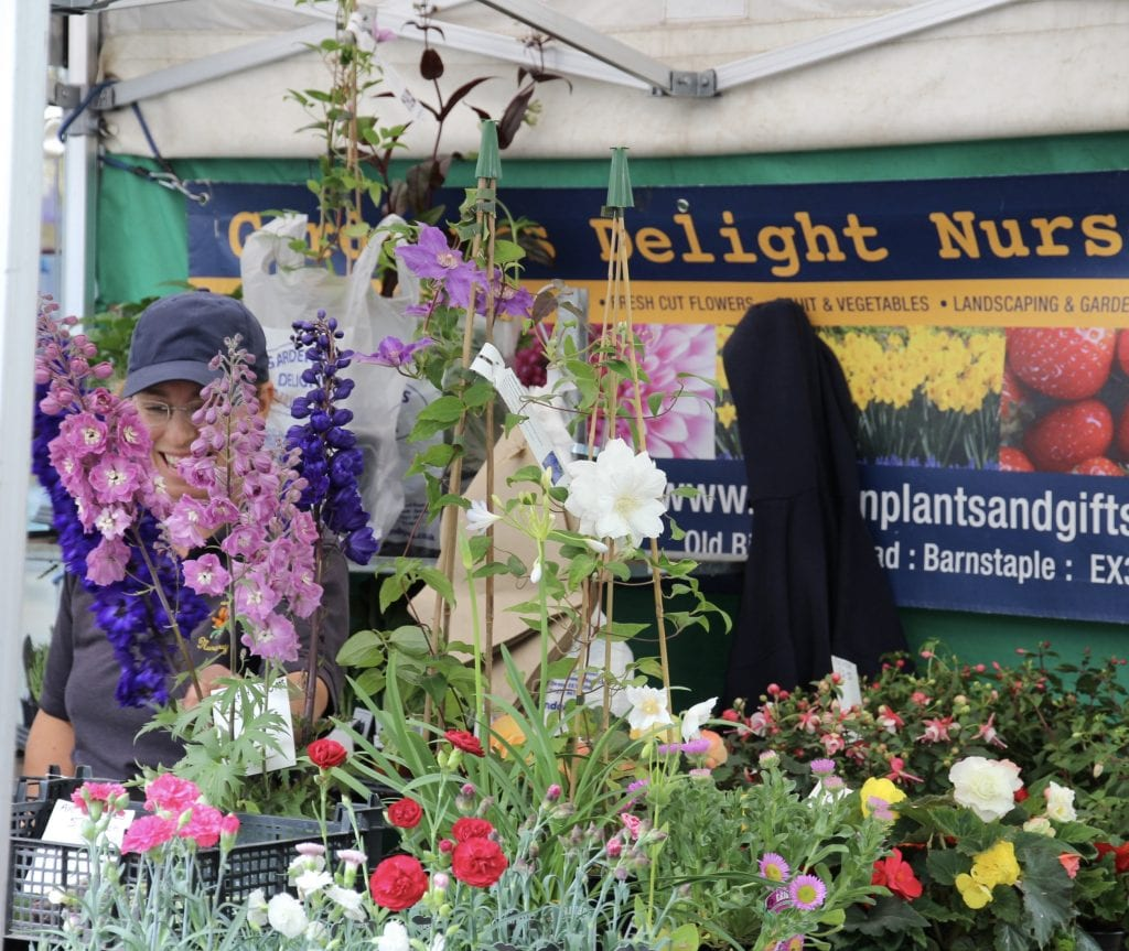 Gardeners Delight Nurseries Exeter Farmers Market
