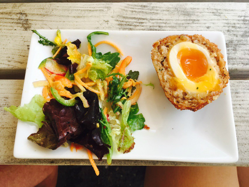 The homemade Scotch Egg at The Beer Engine