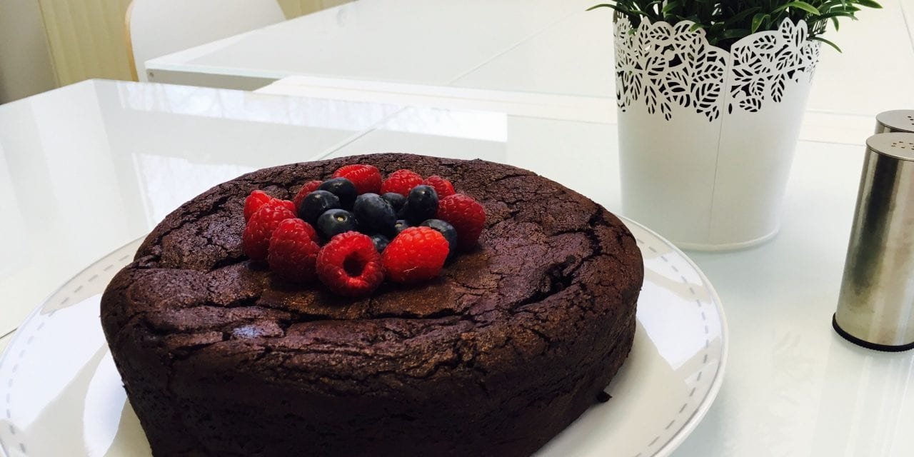 Recipe Of The Month: Flourless Chocolate Cake With A Hit Of Coffee