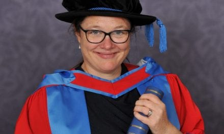 Inspirational Devon headteacher awarded honorary degree