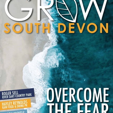 Front Cover July South Devon Waves Ocean Sea Beach